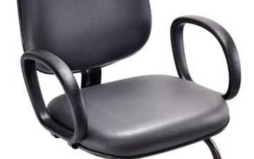 Cadeira Fixa Diretor Básica SP, Cadeira Fixa Diretor Escritório, Cadeira Escritório SP