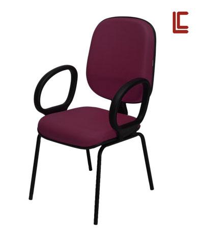 Cadeira Fixa Diretor Básica - Cadeira Fixa Visita - Moveis para Escritorio SP