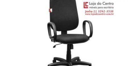 Cadeira Presidente Light Preta, Cadeira Presidente SP, Cadeira Escritório SP, Cadeira Office SP