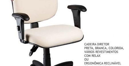 Cadeira Diretor Ergonômica SP, Cadeira Diretor SP, Cadeira Diretor Pronta-Entrega