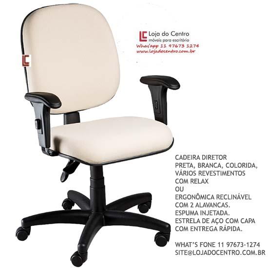 Cadeira Diretor Ergonômica - Cadeira Diretor Gerência - Moveis para Escritorio SP