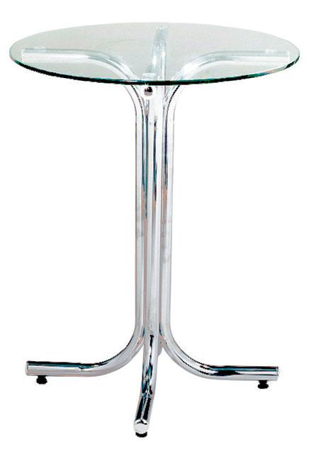 Base Mesa de Reunião - Base para mesa cromada vidro - Moveis para Escritorio SP