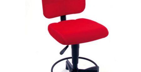 Cadeira caixa alta em tela, cadeira caixa moderna