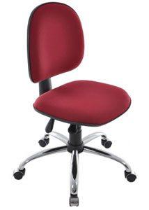 Cadeira para computador cromada - Cadeira para computador - Moveis para Escritorio SP