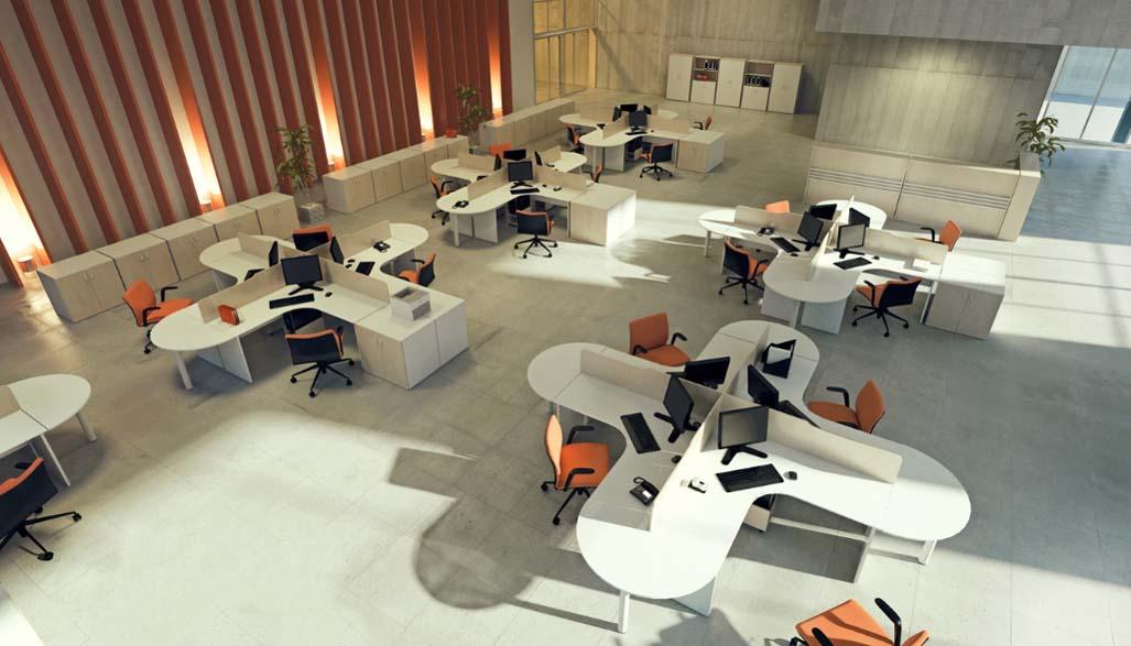 Estação de Trabalho - Estação de Trabalho Luxo - Moveis para Escritorio SP