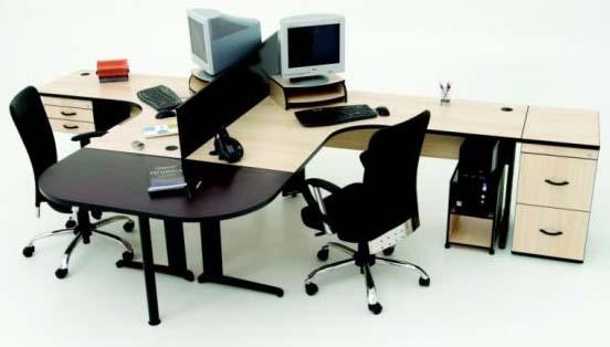 Mesa para Escritório em L - Destaque Estacoes - Moveis para Escritorio SP