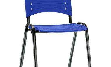 Cadeira de plástico para escritório, cadeiras para escritório, móveis para escritório em SP