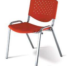 Cadeira Fixa Class Empilhável, Cadeira Fixa de Plástico SP