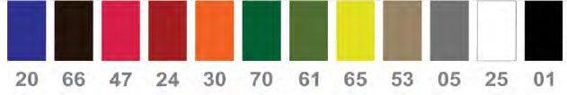 cores para cadeira class econômica