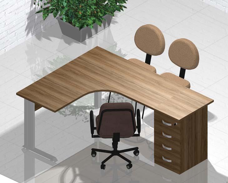 Mesa para Escritório Promocional - Destaque - Moveis para Escritorio SP