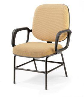 Cadeira para obeso lisa - Cadeiras para obesos - Moveis para Escritorio SP