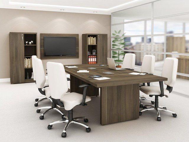 Mesa de reunião Premium 40mm - Mesas para Reunião - Moveis para Escritorio SP