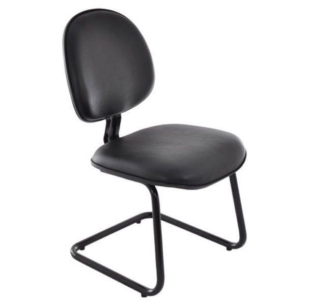 Cadeira Fixa Secretária Executiva - Cadeira Fixa Visita - Moveis para Escritorio SP