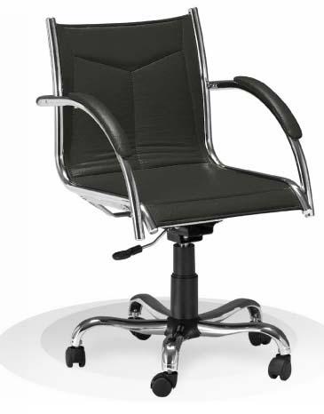 Cadeira diretor SENT cromada - Cadeira Diretor Gerência - Moveis para Escritorio SP