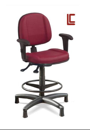 Cadeira Caixa Ergonômica com Braços - Cadeira caixa alta - Moveis para Escritorio SP