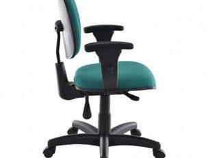 Cadeira Para Computador EXE - Com Braços - Verde