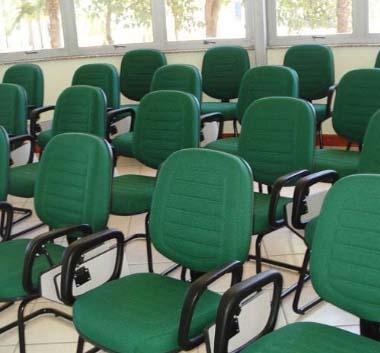 Cadeira Universitária para Auditório SP, Cadeiras Universitárias Gomadas, Cadeira Universitária com Gomos