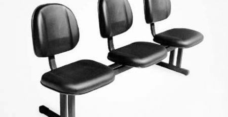 Longarina para sala de recepção e espera, cadeiras para escritório em SP