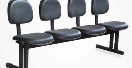 Longarina 4 lugares, cadeiras para escritório em SP
