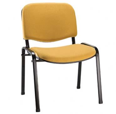 Cadeira Empilhável Estofada - Cadeira Empilhável - Moveis para Escritorio SP