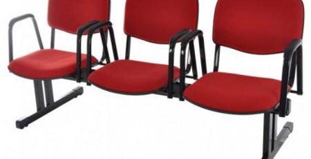 Longarina para sala de espera, cadeiras para escritório em SP