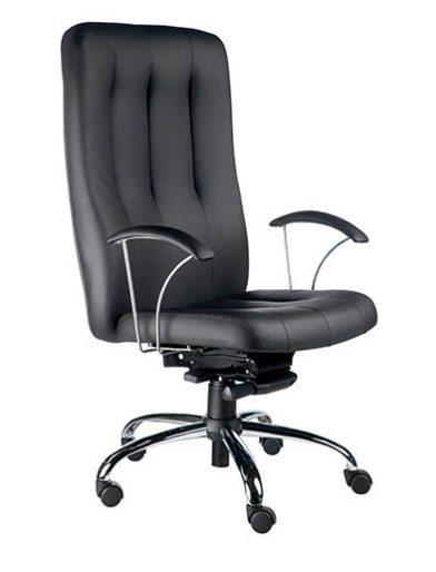Cadeira presidente cromada - Cadeira Presidente - Moveis para Escritorio SP
