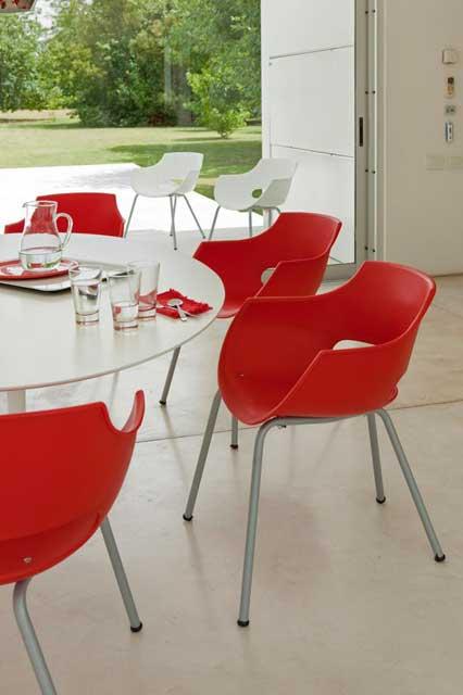 Cadeira Design FR - Cadeira de plástico - Moveis para Escritorio SP