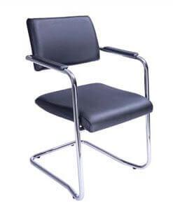 Cadeira Fixa Slim - Estrutura em S