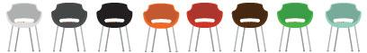 Cores para Cadeira Plástica Frida