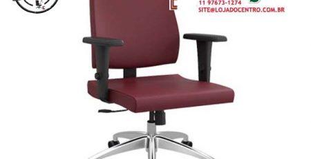 Cadeira Presidente Ergométrica, Cadeira Presidente Ergonômica Luxo