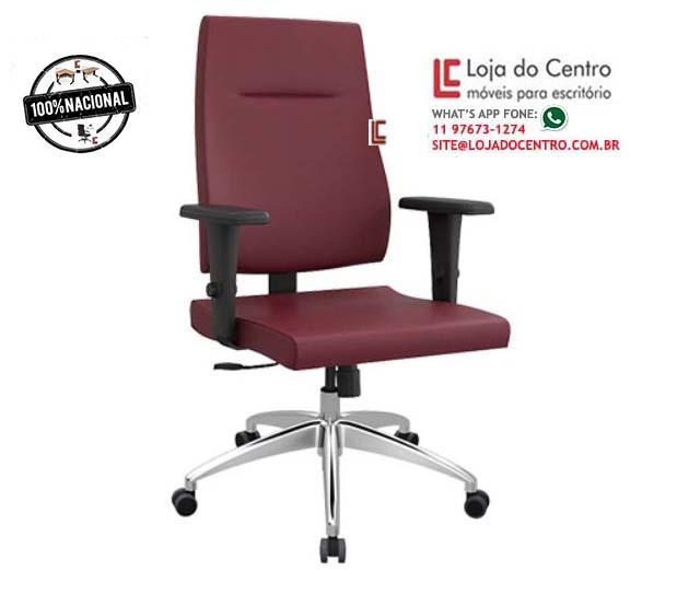 Cadeira Presidente Ergonômica - Cadeira Presidente - Moveis para Escritorio SP