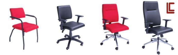 Cadeiras da Linha Slim