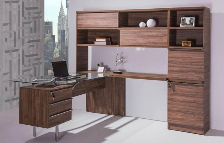 Mesa para escritório com tampo de vidro - Mesas para atendimento - Moveis para Escritorio SP