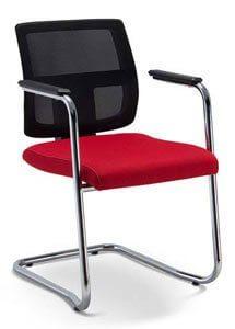 Cadeira fixa tela BR - Cadeira fixa/ visita - Moveis para Escritorio SP