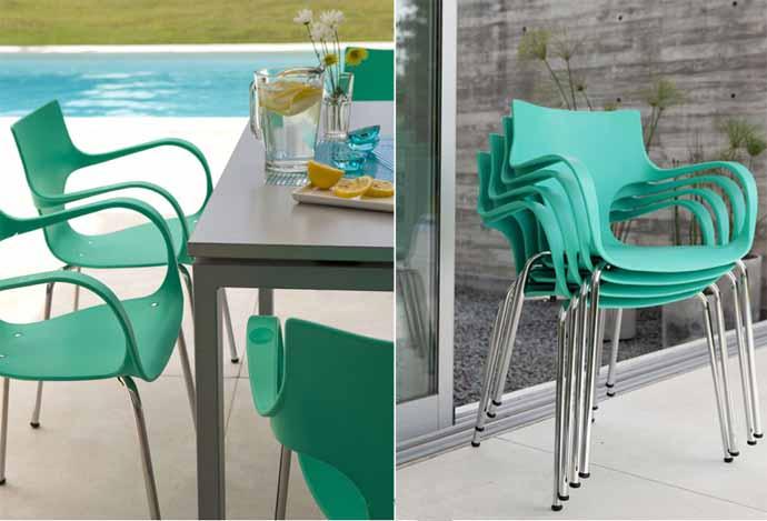 Cadeira Design Jim Empilhável SP, Cadeira Jim SP