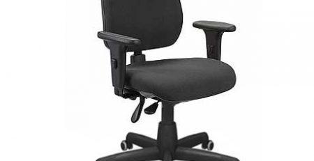 Cadeira Operacional Capa Preta, Cadeira Operativa Preta, Cadeira para Escritório SP