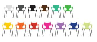 Cores para cadeira Jim