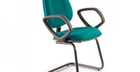 Cadeira Fixa Secretária Luxo, Cadeira fixa luxo, premium