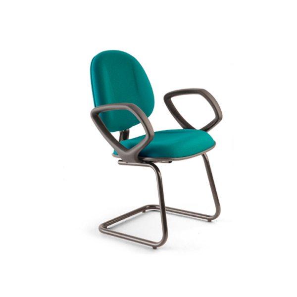 Cadeira Fixa Secretária Top - Cadeira Fixa Visita - Moveis para Escritorio SP