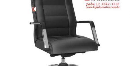 Cadeira Presidente Real Preta, Cadeira Presidente, Cadeiras para Escritório SP