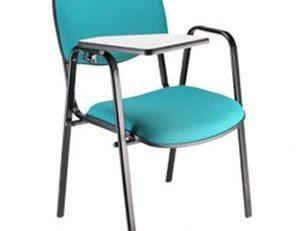 Cadeira Universitária Empilhável - Azul