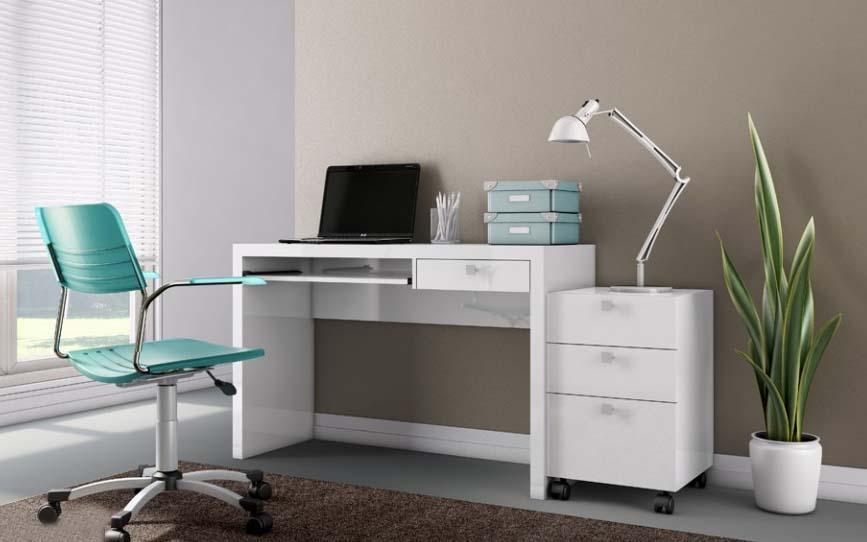 Mesa para micro com gaveta - Acessórios para informatica - Moveis para Escritorio SP
