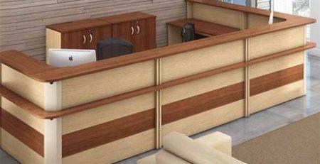 Balcão para recepção, móveis para escritório em SP