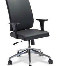 Cadeira presidente sof preta, cadeira presidente slim, cadeira presidente ergonomica