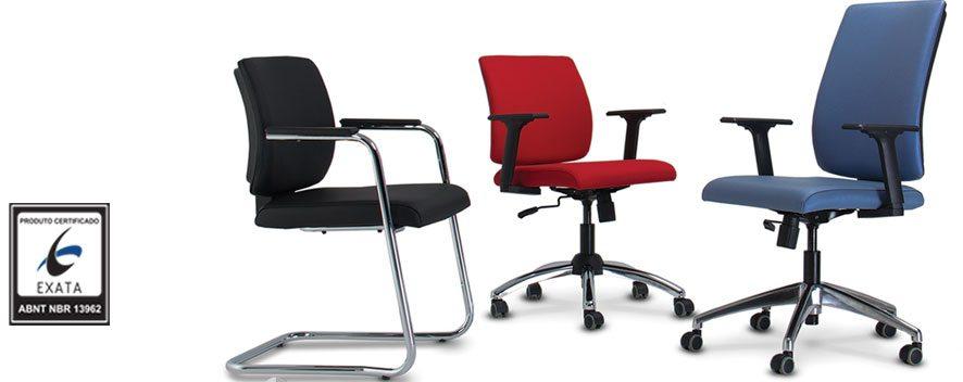 Cadeiras para escritório - Várias cores e modelos