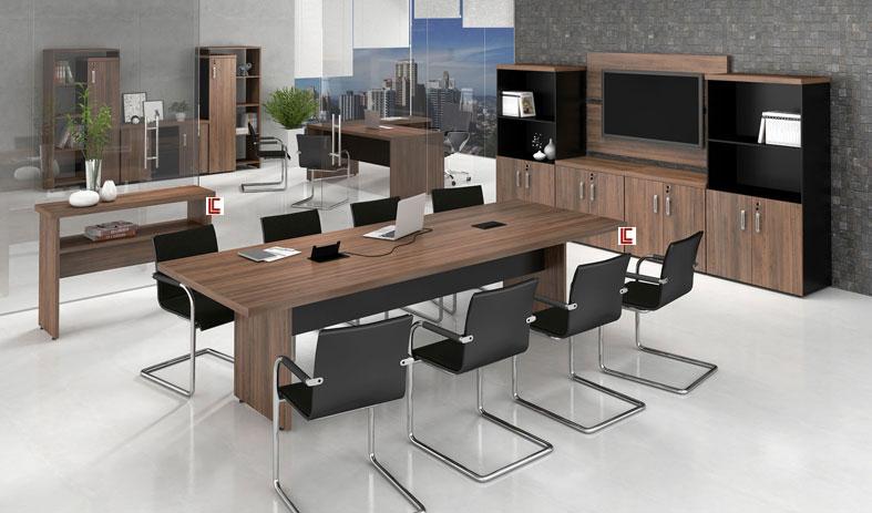 Mesa de Reunião 40mm - Destaque Mesas - Moveis para Escritorio SP