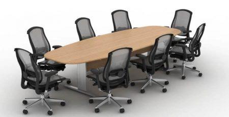 Mesa de Reunião Oval Uni - Geral