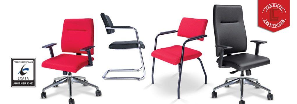 Cadeira Presidente Slim - Modelos e Cores