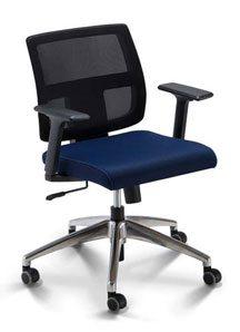 Cadeira para computador Tela Br - Cadeira executiva / secretária - Moveis para Escritorio SP