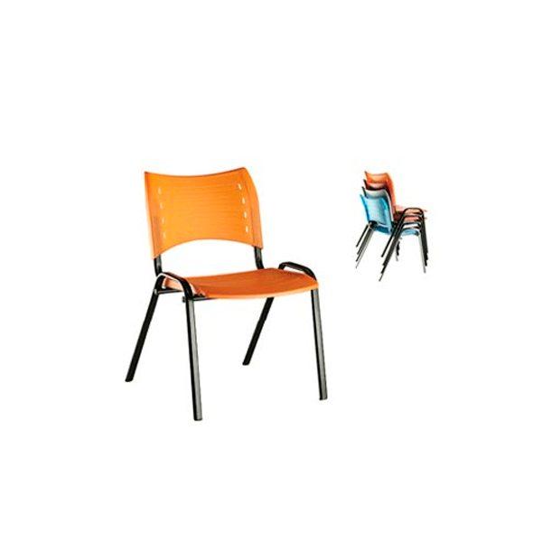 Cadeira Class Econômica - Cadeira Empilhável - Moveis para Escritorio SP
